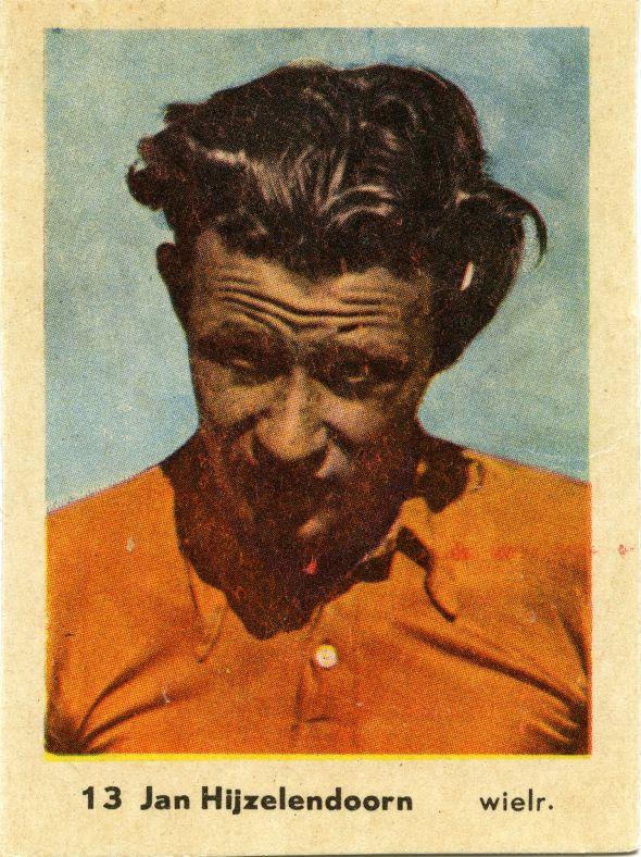 Jan Hijzelendoorn jr.(1929 – 2008), wielrenner