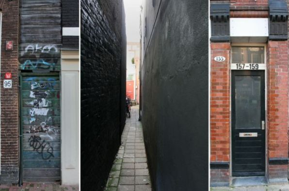 Gangenproject - fotomontage-heden